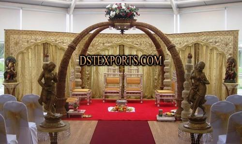 Wedding Elephant Trunck Mandap