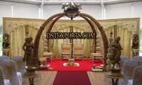 Wedding Elephant Trunck Mandap