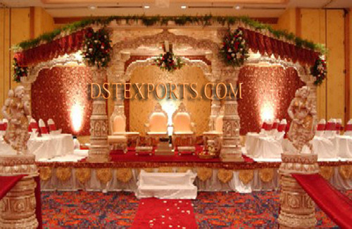 Royal Wedding Golden Devdas Mandap