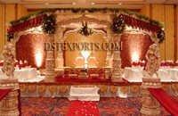 Royal Wedding Golden Devdas Mandap