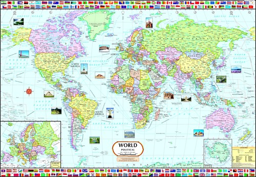 World political map world political map exporter manufacturer world political map gumiabroncs Gallery