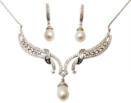 Sea Pearl Mangalsutra Set Manufacturar