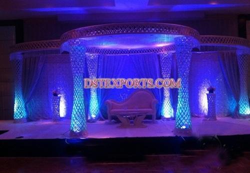Latest Wedding Lighted Mandap Set