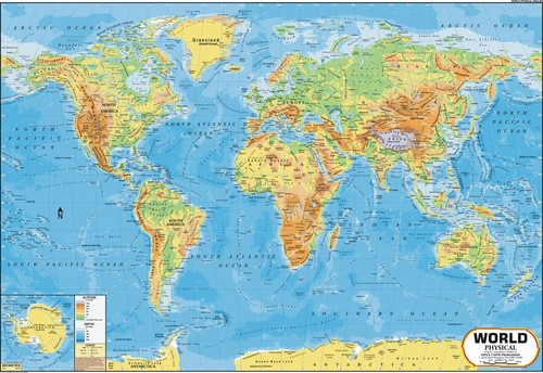 World physical map world physical map exporter manufacturer world physical map gumiabroncs Images