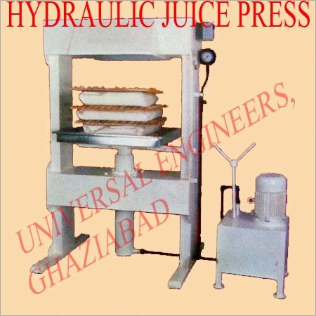 Hydraulic Juice Press