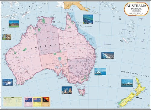 Australia Political Map With Capitals.Australia Political Map Australia Political Map Exporter