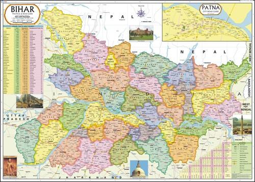 Bihar Political Map