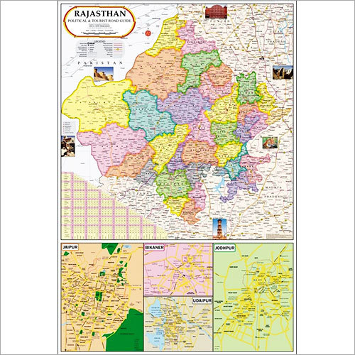Gujarat Political Map