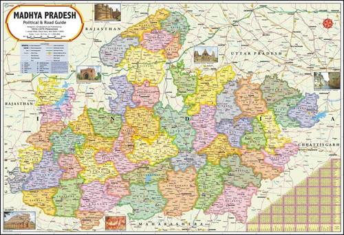 Madhya Pradesh Political Map