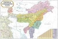 North East India Political Map