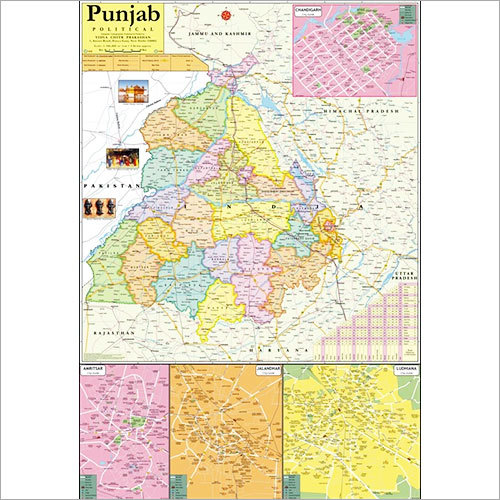 Punjab Political Map