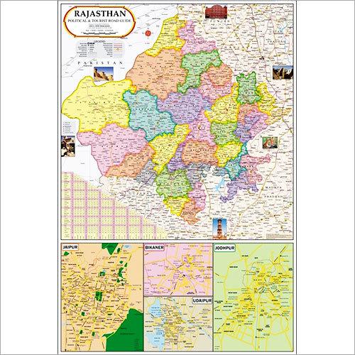 Rajasthan political map rajasthan political map exporter rajasthan political map altavistaventures Gallery