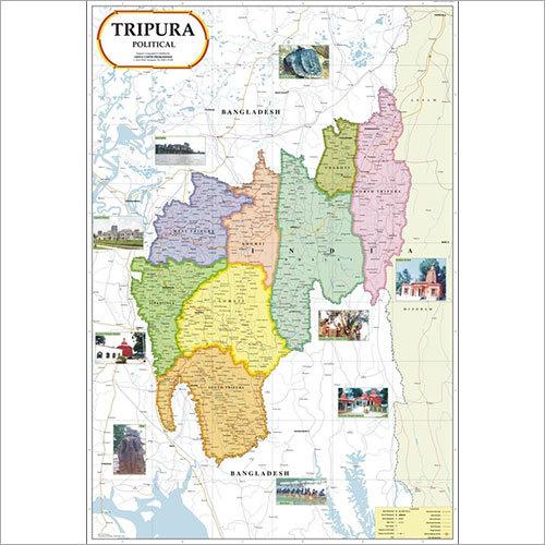 Tripura Political Map