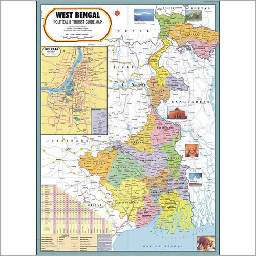 West Bengal Political Map