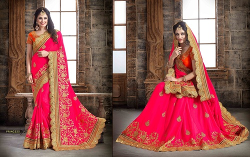 Bridal Wear Sarees