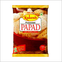 Processed Papad