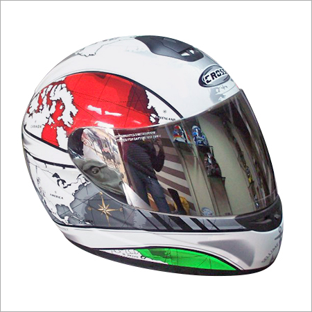 Multi Color Motorcycle Helmet