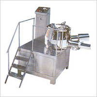 Rapid Mixer And Wet Granulator