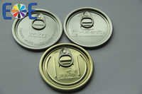 Aluminum Canned Food Easy Open End