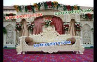 Traditional Walima Wedding Stage