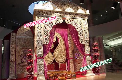 Asian Wedding Royal Stage Set