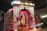 Asian Wedding Royal Stage Set