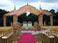 Indian Wedding Temple Mandap