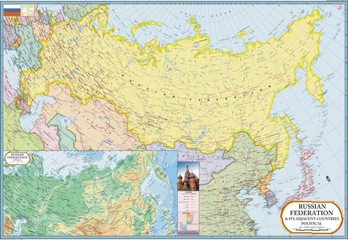 Russia & It's Adjacent Countries