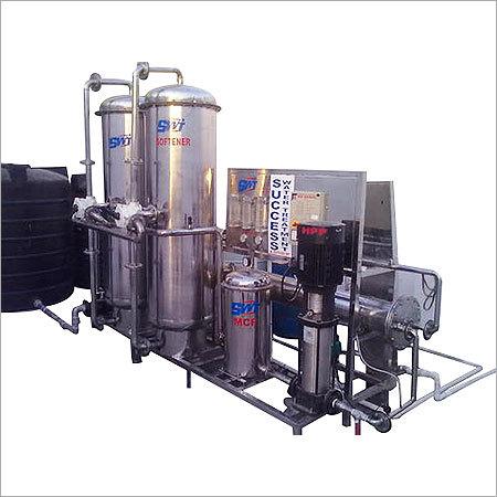 Semi Automatic Bottling Plant