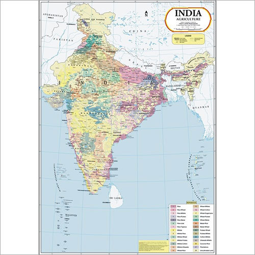 India Agriculture Map