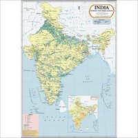India Power & Irrigation Map