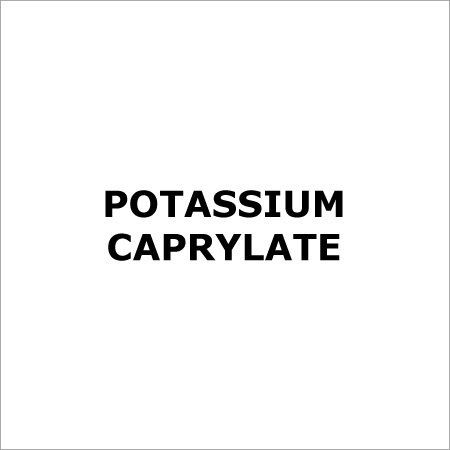 Potassium Caprylate - Emulsifier
