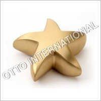 Star Keepsake Brass Token Cremation Urn