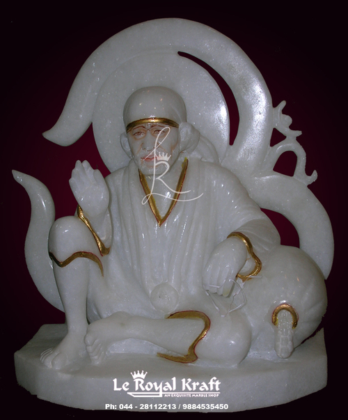 Marble Shirdi Sai Idol