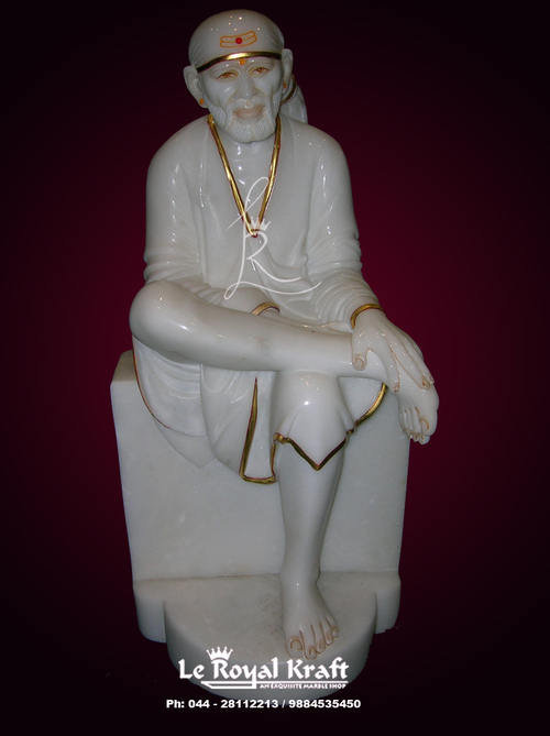 Sai Baba Marble Idol