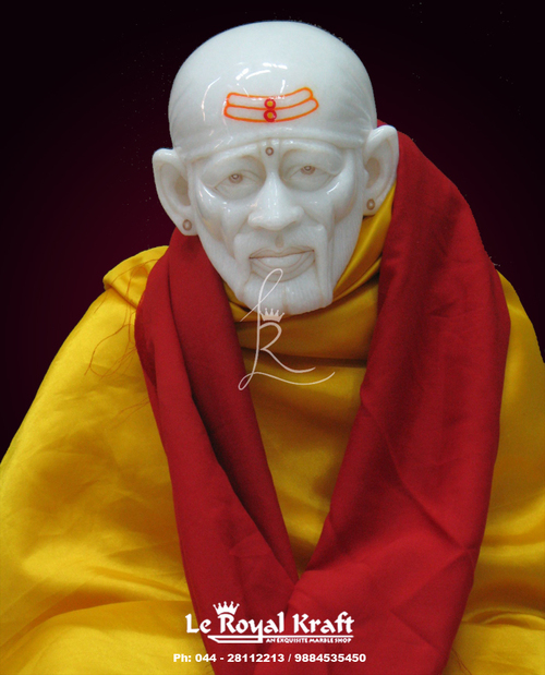 Marble Sai Baba Sculpture