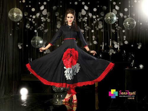 Traditional Indian Anarkali Suit