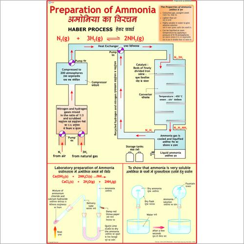 Ammonia & Manufacture of Ammonia Chart