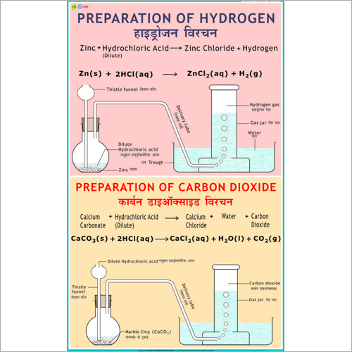 Preparation of Hydrogen & Carbon Dioxide