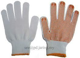 Industrial Cotton Knitted Gloves