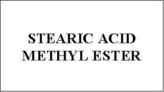 Stearic Acid Methyl Ester - Emulsifier