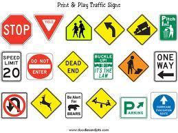 Traffic Glow Signages