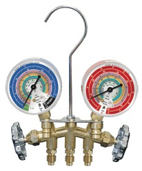 Two Way Brass Manifold