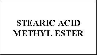 Stearic Acid Methyl Ester - Exporter