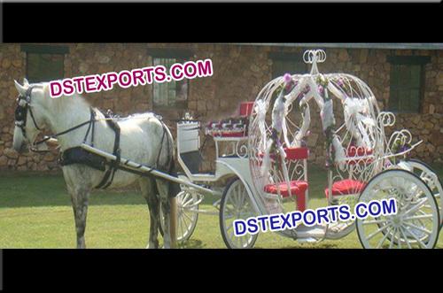 Christmas Cinderalla Horse Carriage