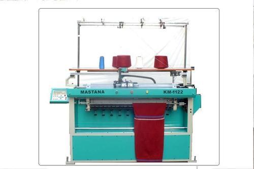 SemiComputerized Sweater Flat Bed Knitting Machine