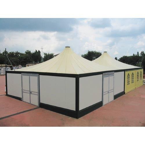 Temporary Storage Modular Canopy Shades