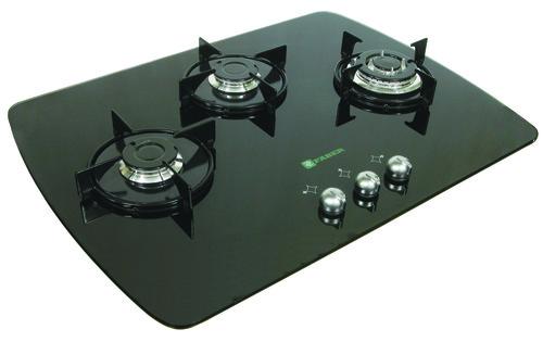 3 Burner Glass Cooktop