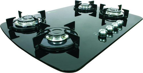 Glass Cooktop With 4 Burners