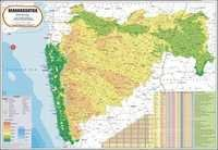 Maharashtra Physical Map